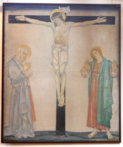 The Crucifixion by Edward Frampton