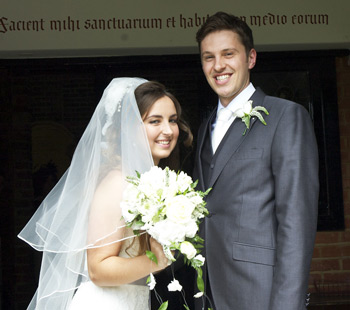 Wedding of Kirsty Sharp and Ryan Liversage